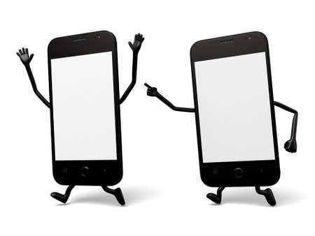 cellphones: There are two cellphones