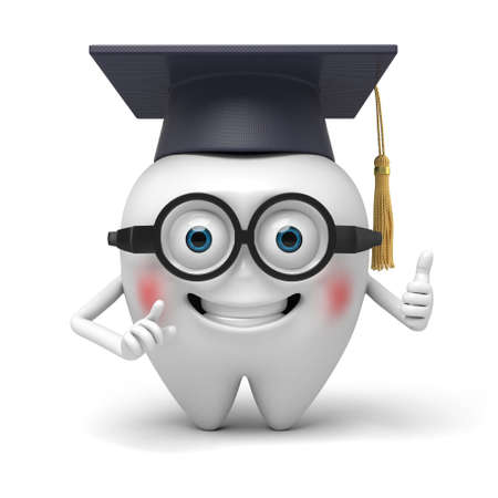 earned: The tooth have earned a degree