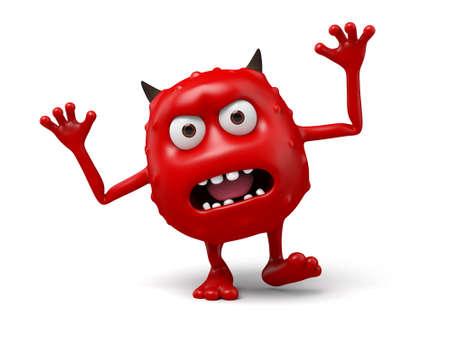 An ebullient devil Imagens