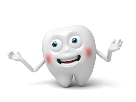 innocent: The tooth opened its hands