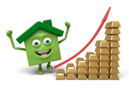 house prices: House prices are rising