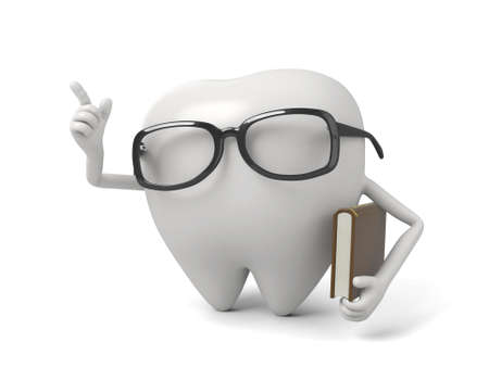 The tooth is an intellectual Imagens