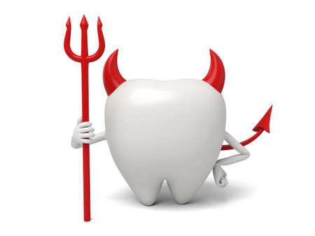 dentist: The tooth is a little devil