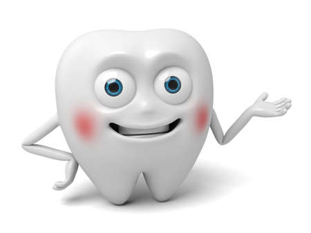 introduced: The tooth introduced things Stock Photo