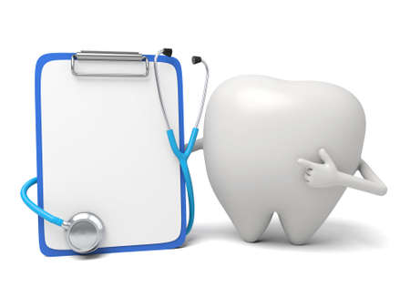 The tooth and the case of illness