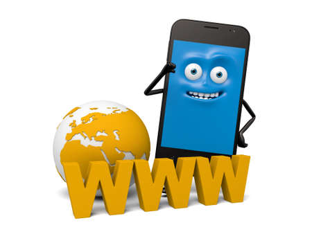 ie: The smartphone and the www Internet Explorer
