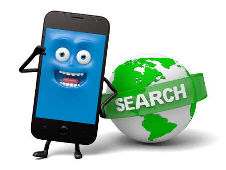 cellphone: The smartphone and the search engines