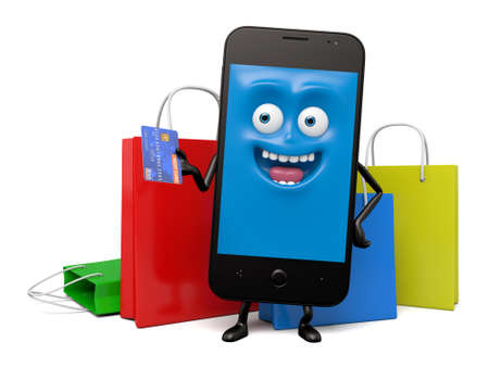 smart card: The smartphone bought a lot of things