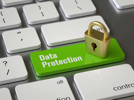 Data Protection key on the keyboard