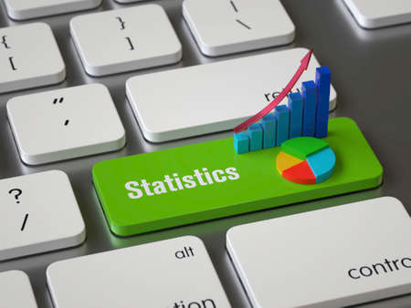 Statistics key on the keyboard