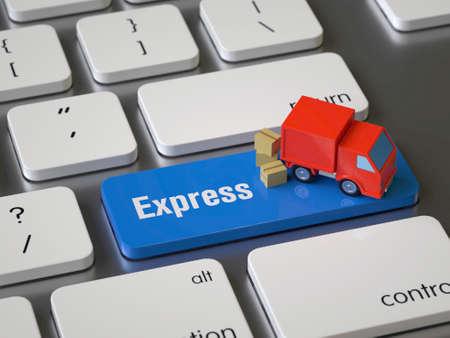 Express key on the keyboard