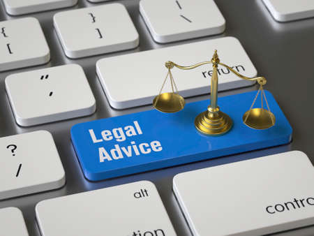 Legal Advice key on the keyboard