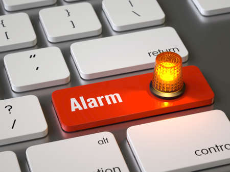 Alarm key on the keyboard