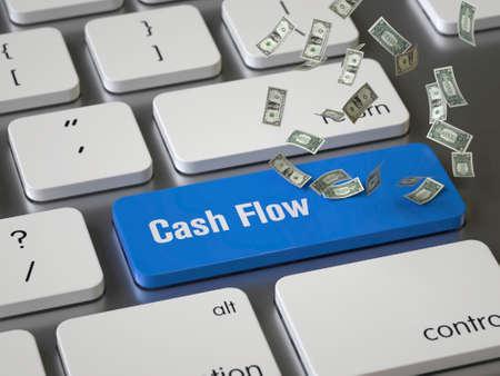 Cash Flow key on the keyboard
