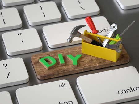 Diy key on the keyboard
