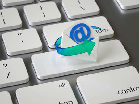 Email key on the keyboard