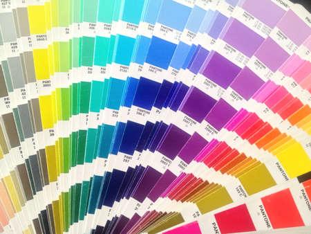 colour: Pantone Color Bridge Stock Photo