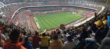 futbol soccer: Azteca Stadium