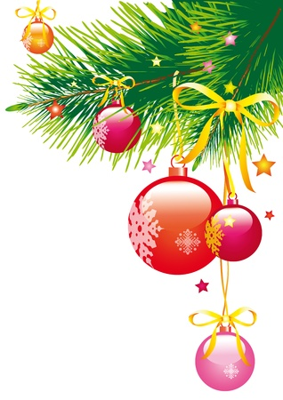 Christmas, new year ,cristmas tree,background Vector
