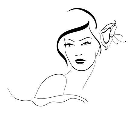 hair do: Girl,face