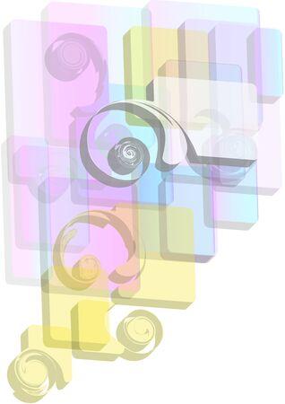 frizz: background form, geometry