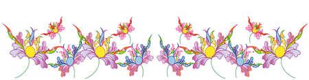 day saint valentin: flower, decorative pattern ,background