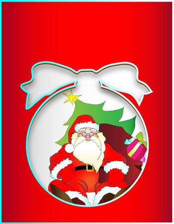 fell: Christmas, new year ,background Illustration