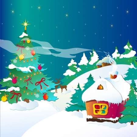 Christmas, new year ,background vector Stock Vector - 16554138