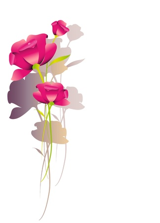 floral background,flower vector Vector