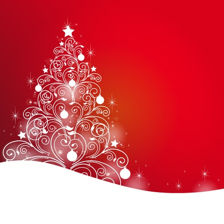 beating: Christmas, new year ,background vector