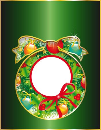 Christmas, new year ,background vector Stock Vector - 16928851