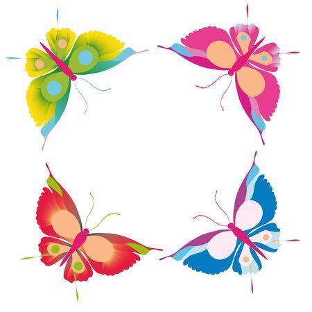 butterfly, butterflies, vector Stock Vector - 17303861