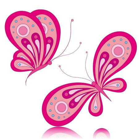 butterfly, butterflies, vector Stock Vector - 17303707