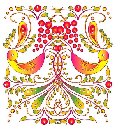 flowers card vector Stock Vector - 17303862