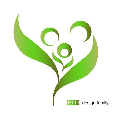 eco design vector Illustration