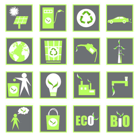 eco design vector set Vector