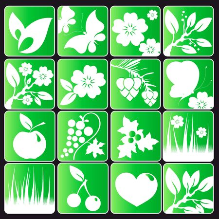 eco design vector set Stock Vector - 17696943