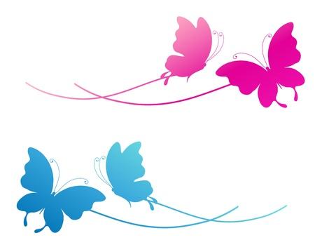 butterfly flower: butterfly, butterflies, vector