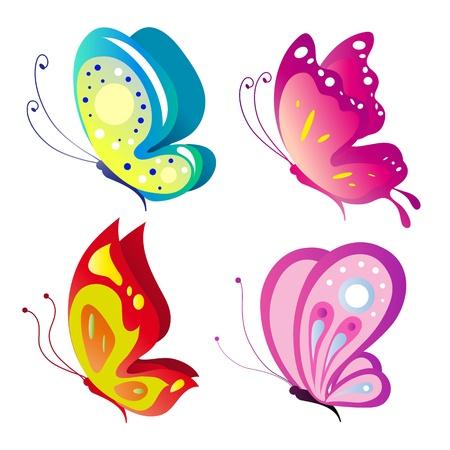 vector butterfly: butterfly, butterflies, vector