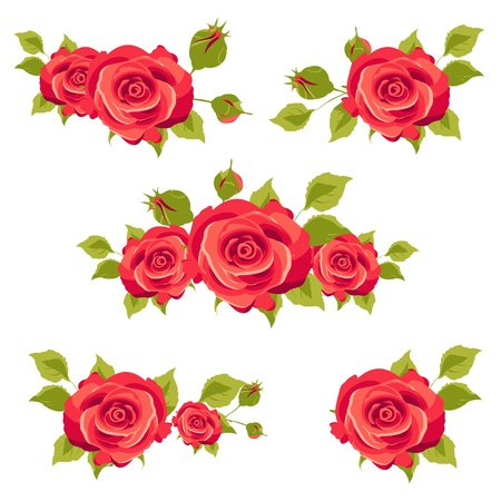 flowers card vector Stock Vector - 18681157