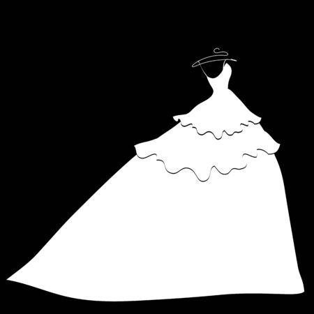 suknia ślubna: wedding dress