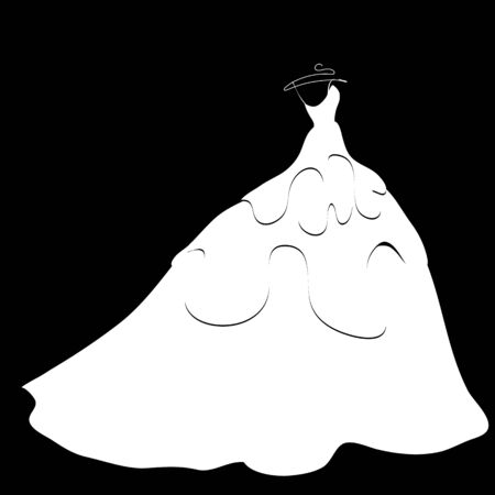 wedding dress silhouette: wedding dress