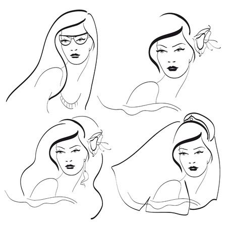 fiance: women faces