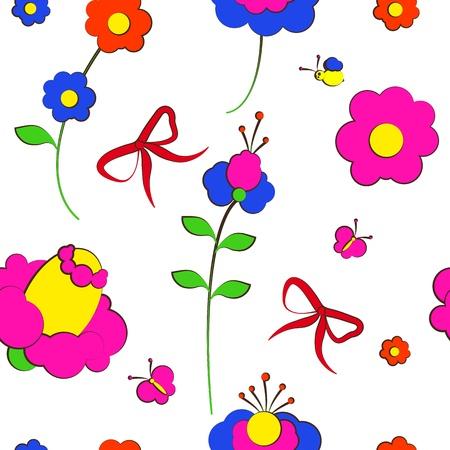 bloemen kaart vector
