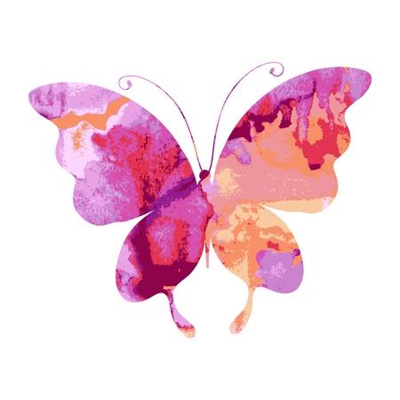 Papillon, papillons, vecteur Banque d'images - 20670535