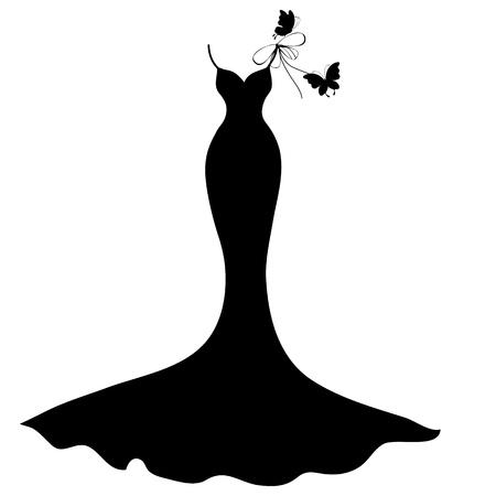 vecteur de robe de mari?e
