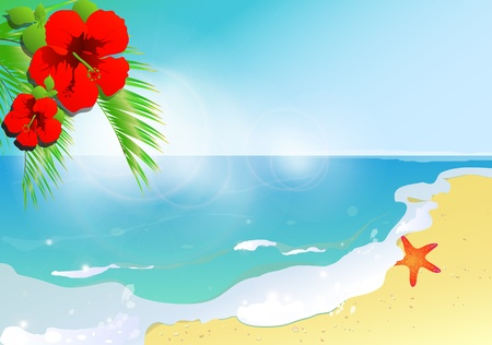sea,summer design vector Vector