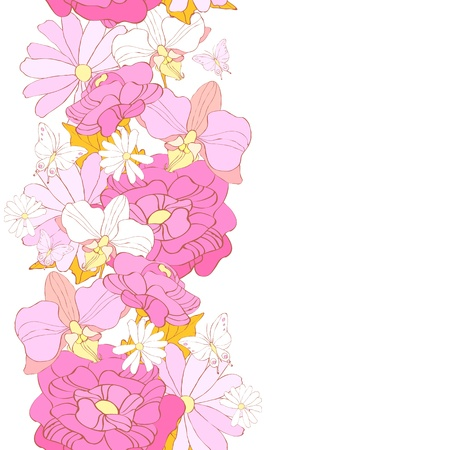 flowers pattern vector Stock Vector - 20921147