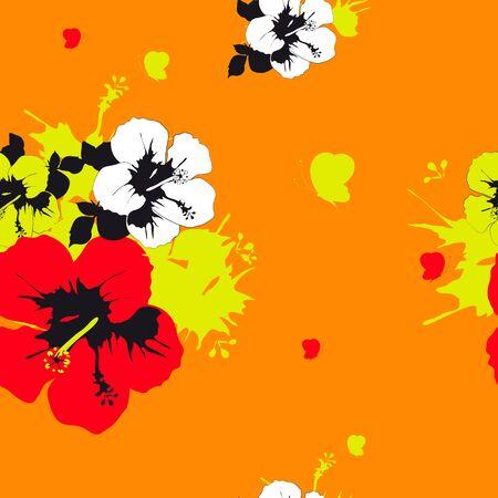 flowers pattern vector Vector