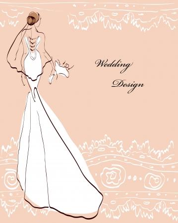 ウェディングドレス: wedding dress